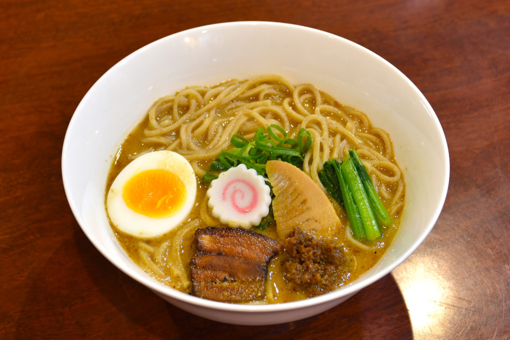 JR茨木のラーメン・つけ麺「自家製麺・らーめん屋一心」龍王味噌ラーメン