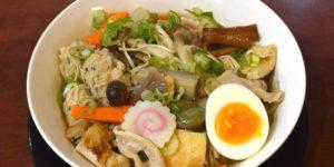 JR茨木のラーメン・つけ麺「自家製麺・らーめん屋一心」ちゃんこラーメン塩バター